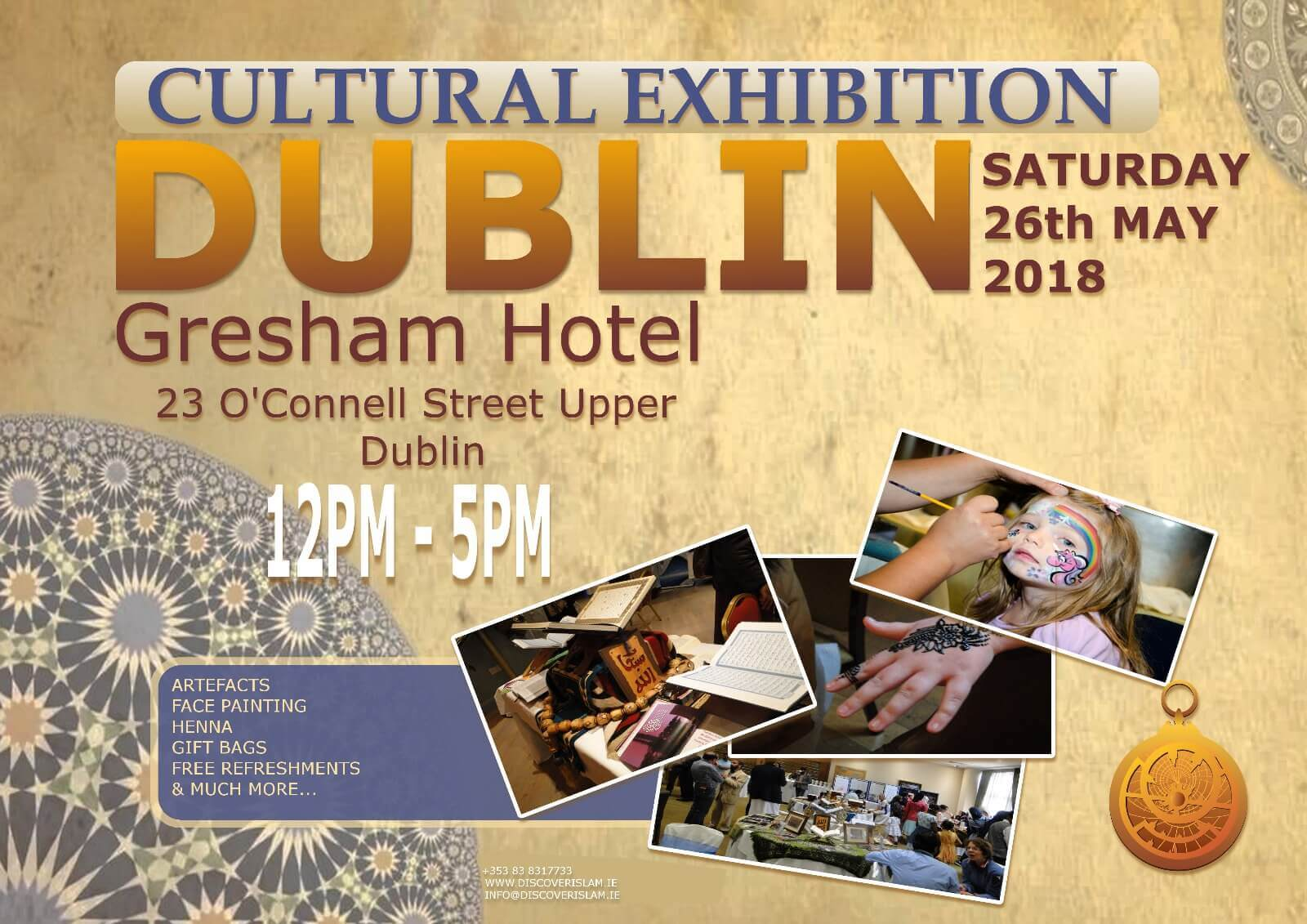 DUBLIN ISLAMIC CULTURE EXHIBITION 2018 Image