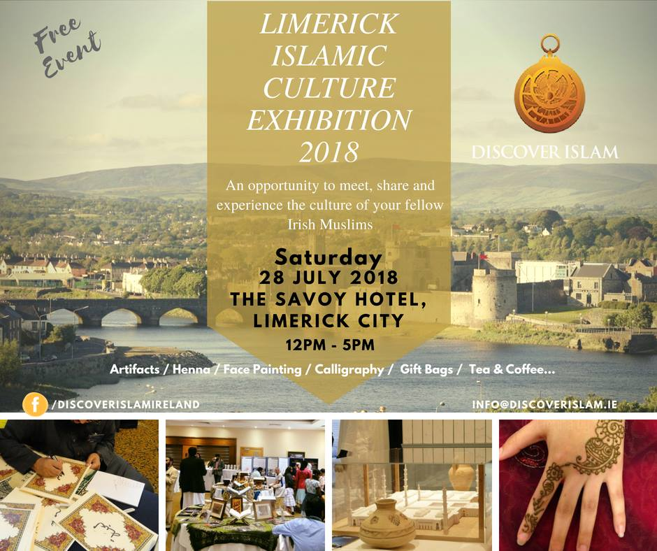 Limerick Islamic Culture Exhibition 2018