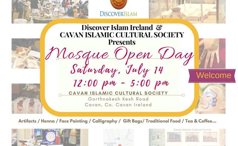 Cavan Mosque Open Day 2018