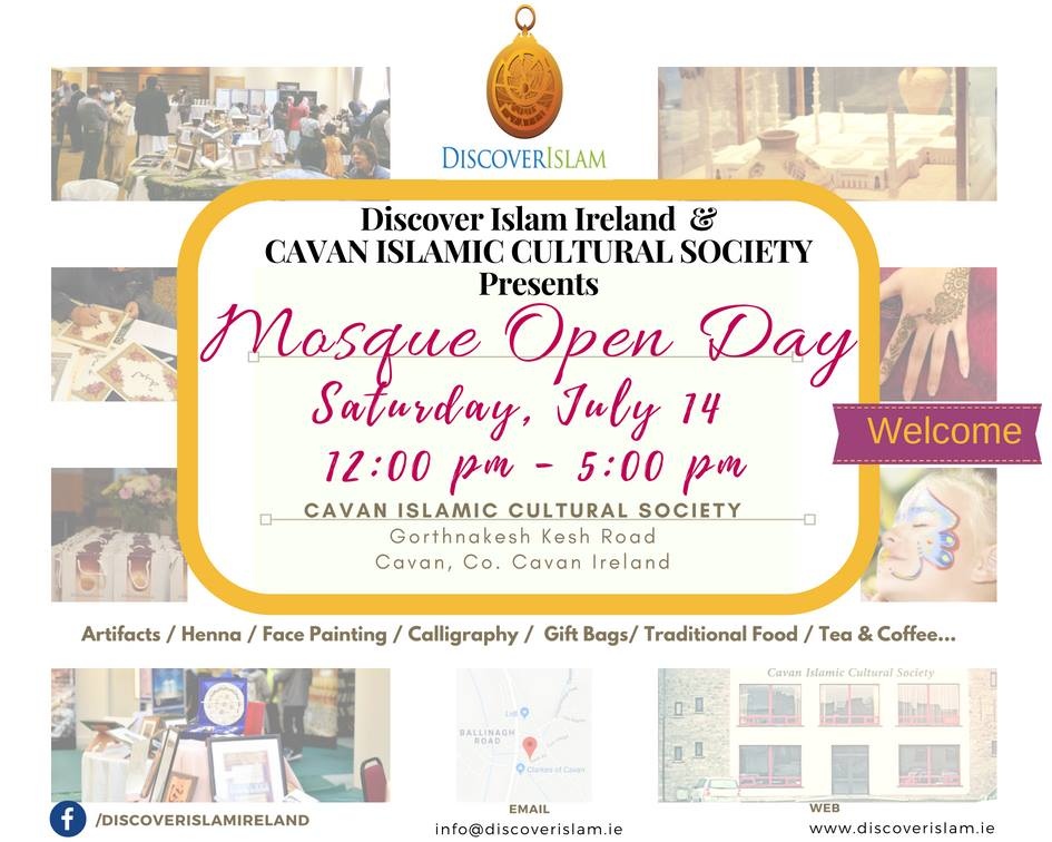 Cavan Mosque Open Day 2018