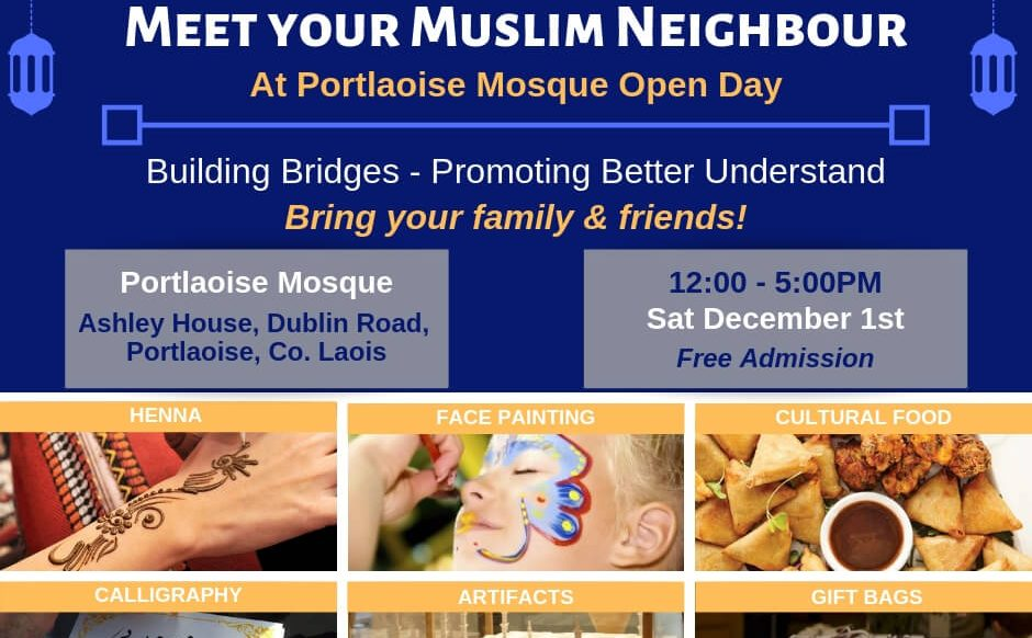Portlaoise Mosque Open Day