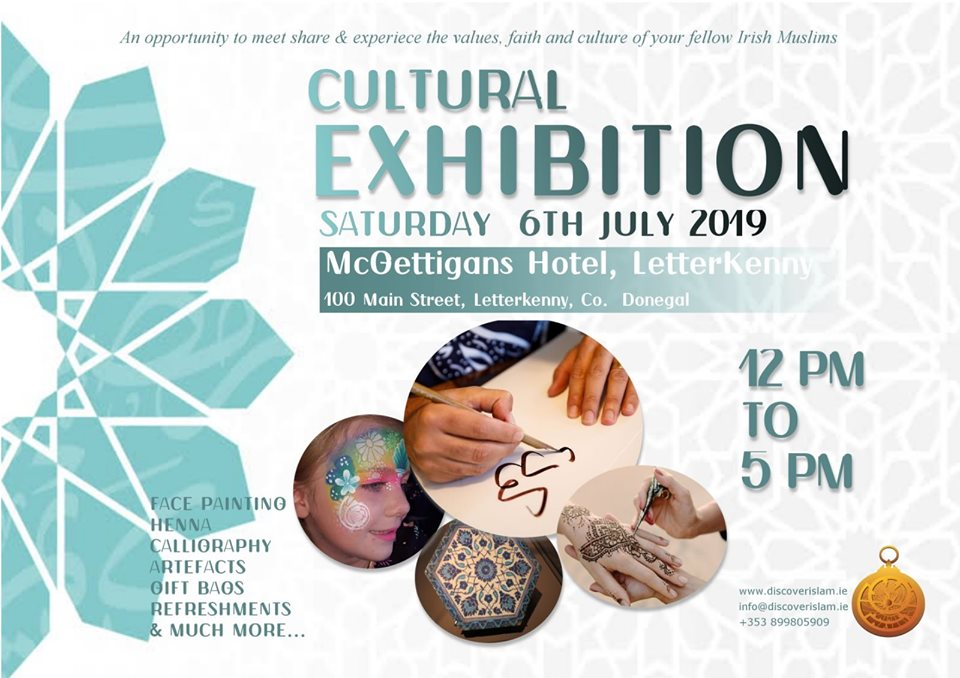 First Letterkenny Islamic Culture Exhibition 2019